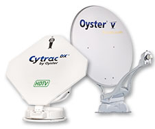 Oyster satellit antenner